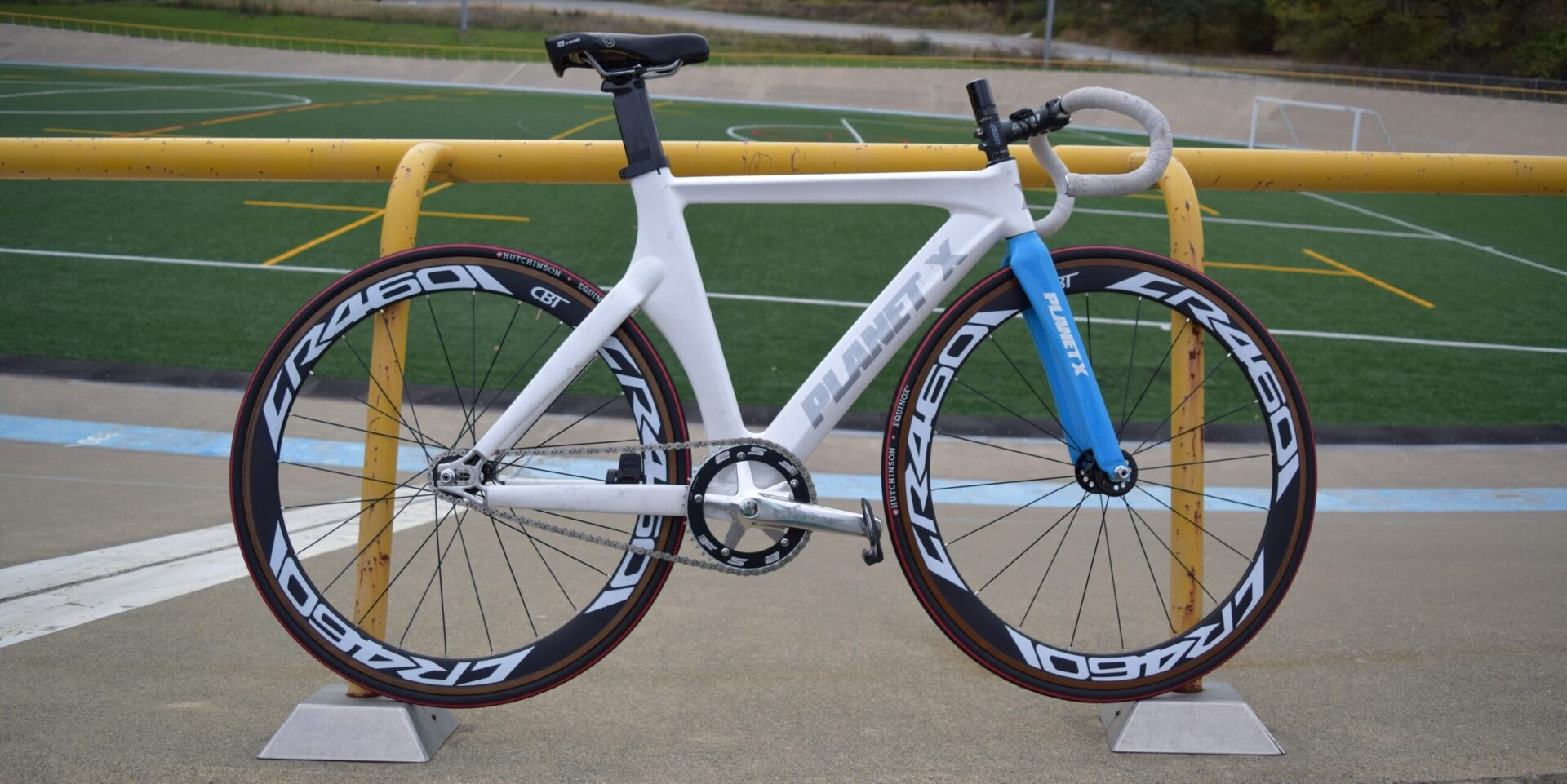 Bike Check: Allie\'s Planet X Track – Broad Street Cycles