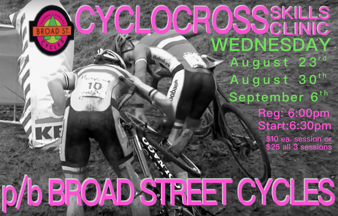 Broad Street Cycles CX Skills Clinic