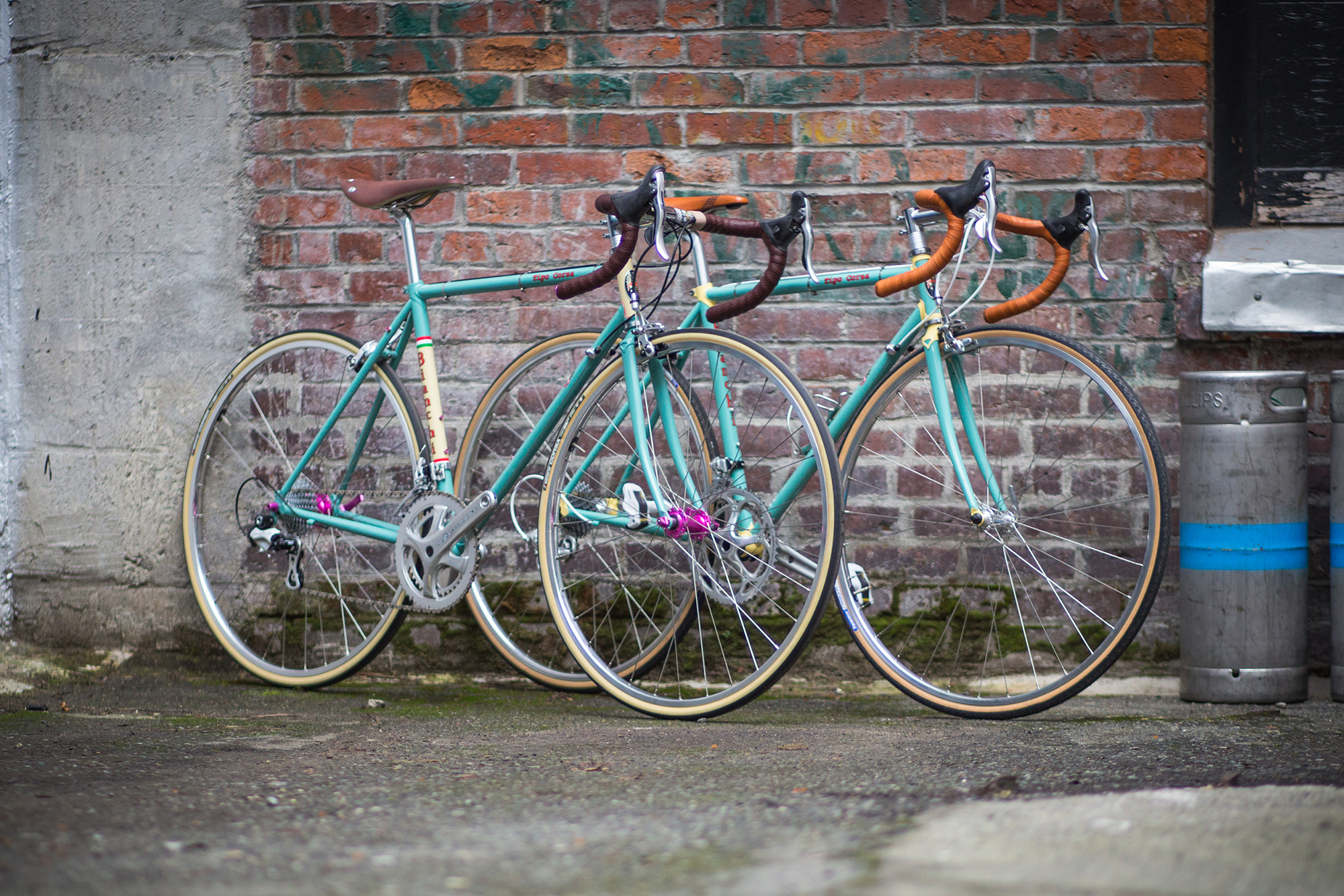 Bike Check: Seeing Double – Shawn and Jyoti's Tipo Corsas